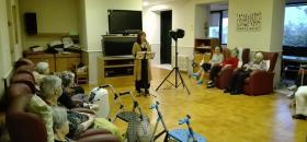 Concert de la Soprano Olga Culebras en el centre Maria Gay de Girona