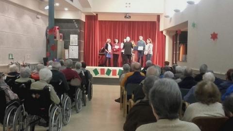 "Concert de la Coral ""Cor de Cor"" al Centre Maria Gay de Girona"
