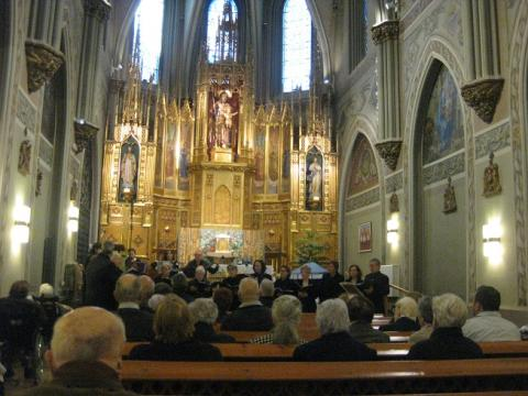 Concert de la Coral de Montilivi al Centre Maria Gay de Girona