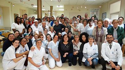 El Premio Avedis Donabedian del Centre Geriàtric Maria Gay se ha conseguido gracias al esfuerzo de todo el equipo humano