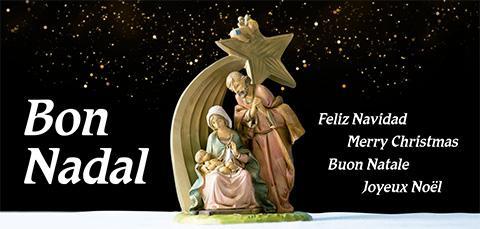 Felicitació per Nadal 2020 de l'IRSJG i el Centre Geriàtric Maria Gay