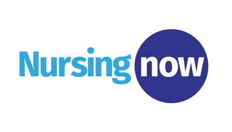 Logo de la campanya Nursing Now