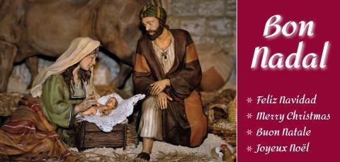 Felicitació de Nadal de l'Institut de Religioses de Sant Josep de Girona