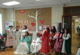 Representació de Sant Jordi al Centre Geriàtric Maria Gay
