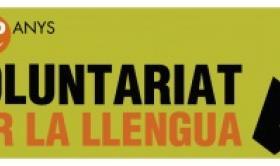 Logo del Voluntariat per la Llengua