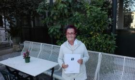 """Una resident del Centre Geriàtric María Gay participa en """"Grans Experts"""""""