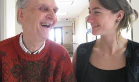 """Apadrinar un avi"", projecte intergeneracional al Centre Geriàtric Maria Gay"