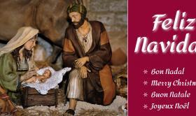 Felicitación de Navidad del Instituto de Religiosas de San José de Gerona